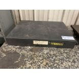 "granite surface plate, 24"" x 18"" x 3.5"""