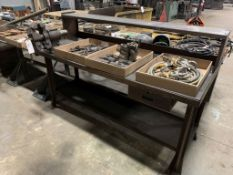 """work bench, 72"""" x 33"""" x 29"""", without vise"""