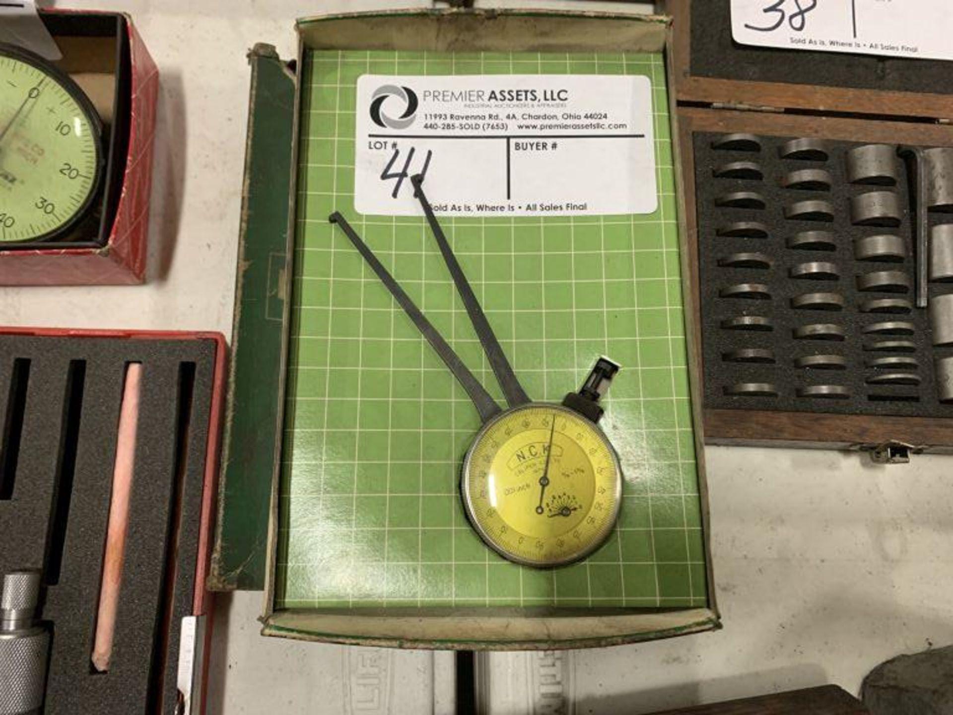 "N.C.K. internal dial caliper, .375"" - 1.375"""