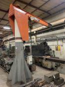 Abell-Howe 2 ton jib crane