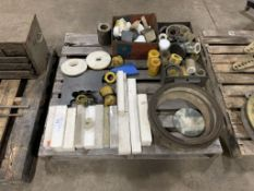 assortment of nylon & Teflon stock