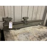 "Brown & Sharpe bench center 1HP550 7/8"" swing x 36"" CHK 12 mos. - H.P."