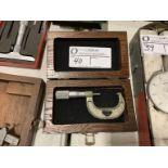 """Fowler micrometer, 1"""" - 2"""""""