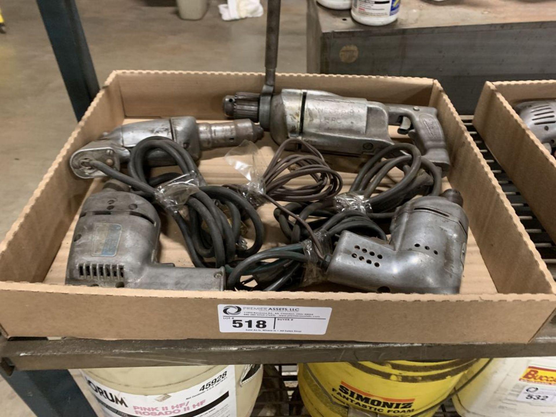 (4) Electric Drill Motors