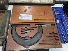 """Brown & Sharpe micrometer, 2"""" - 6"""""""