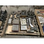 Assortment of Parallels, Face Mills, Tooling