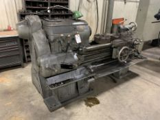 """Monarch lathe with 3' bed, 16"""" CW, Distance between Centers - 30"""""""