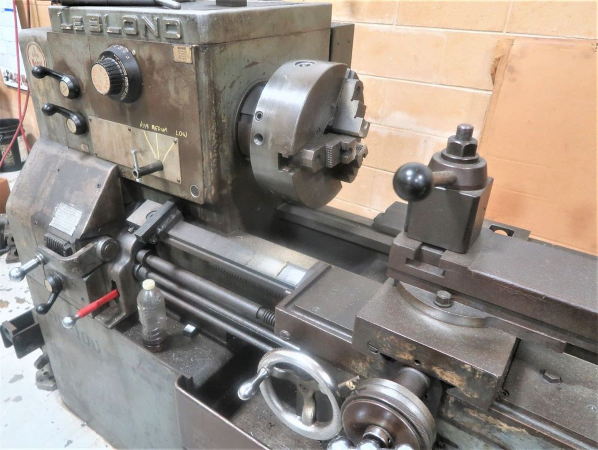 "19"" X 54"" LeBlond Regal Tool room Engine Lathe, S/N 5E179 - Image 3 of 5"