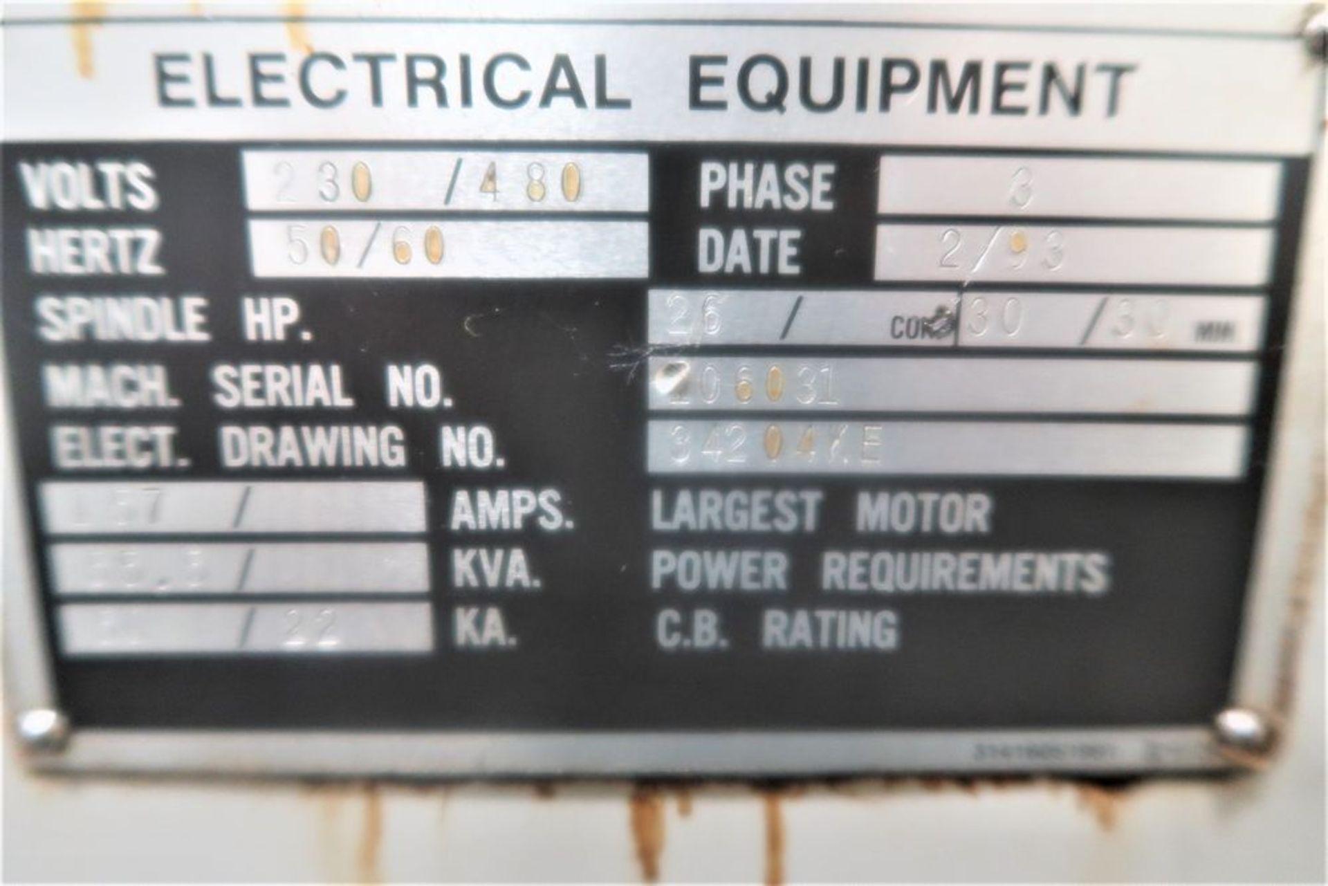 Lot 38 - Mazak Quick Turn 28 2-Axis CNC Turning Center Lathe, S/N 106031