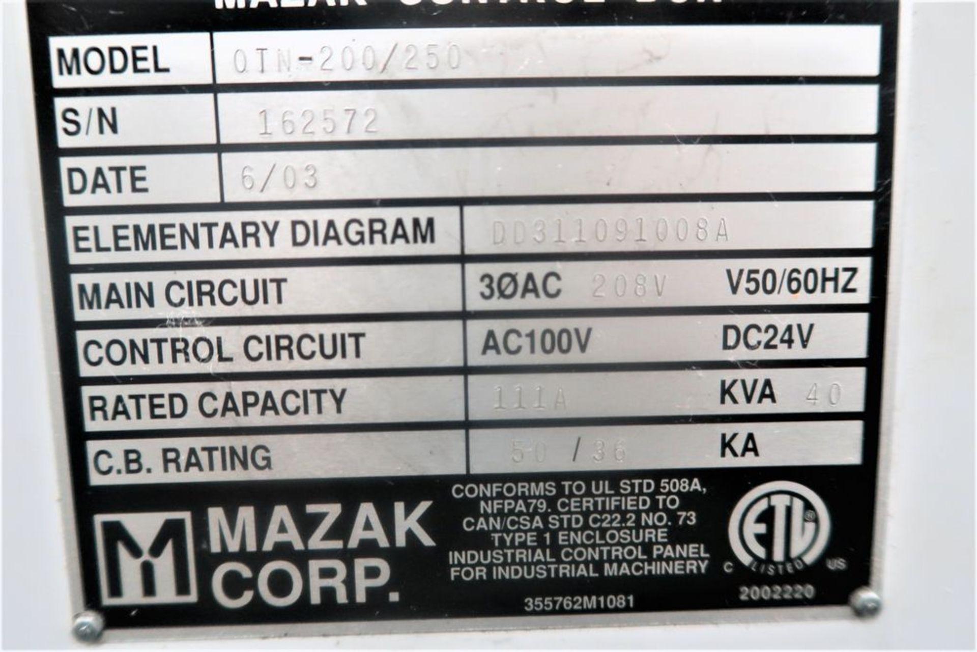 Lot 7 - Mazak Quick Turn Nexus 200 CNC 2-Axis Turning Center Lathe, S/n 162572