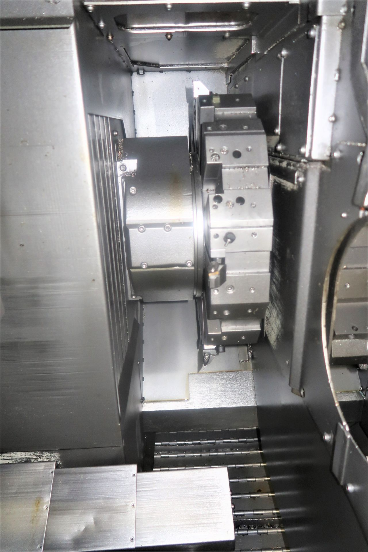 Mazak Dual Turn 25 Twin Spindle CNC Turning Center lathe, S/N 150888 - Image 6 of 13