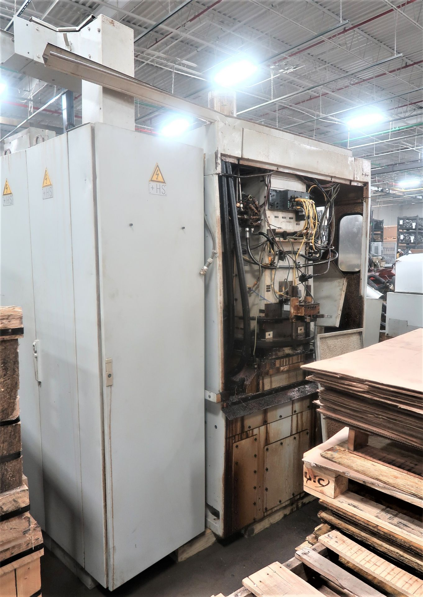 Lot 18C - Liebherr LC153 6-Axis CNC Gear Hobber w/Auto Load Table, S/N 0130 (out of service, require Repair)
