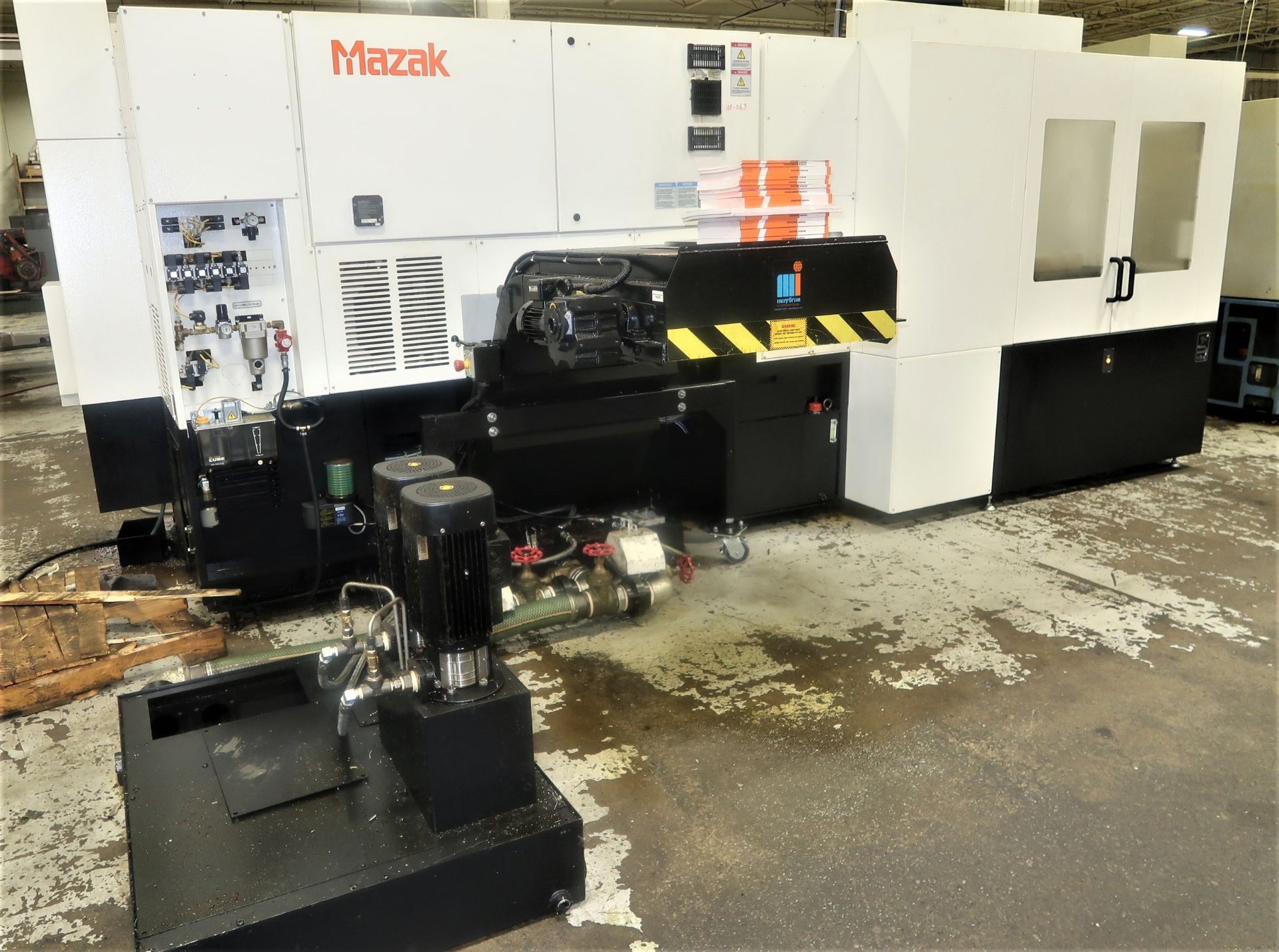 Lot 1 - Mazak Dual turn 200 Twin Spindle CNC Turning Center Lathe, S/N 285120, New 2018