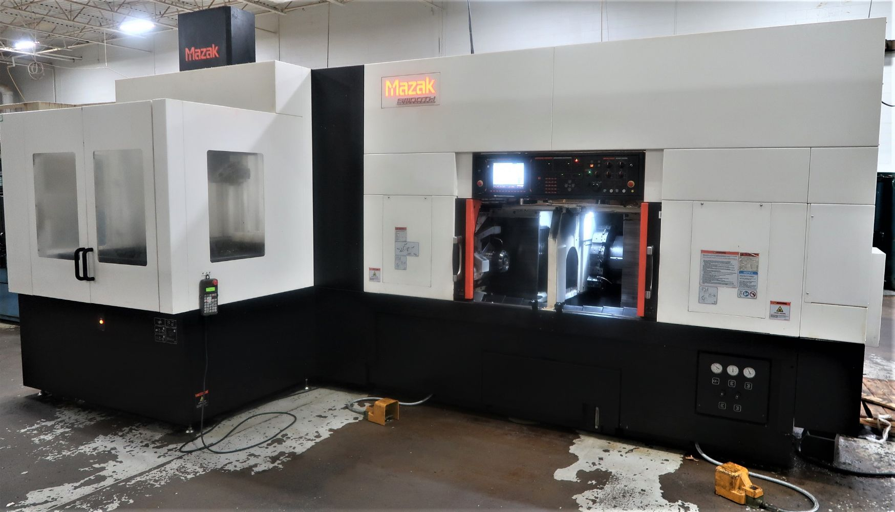 MRA IND. 40 HIGH END CNC, Okuma LU3000EX (4) 2015, Mazak Multiplex 6200Y & 6300Y (4), Mazak Dual Turn 20 2018 (6), Nexus 200 (6) SPLINE ROLLERS