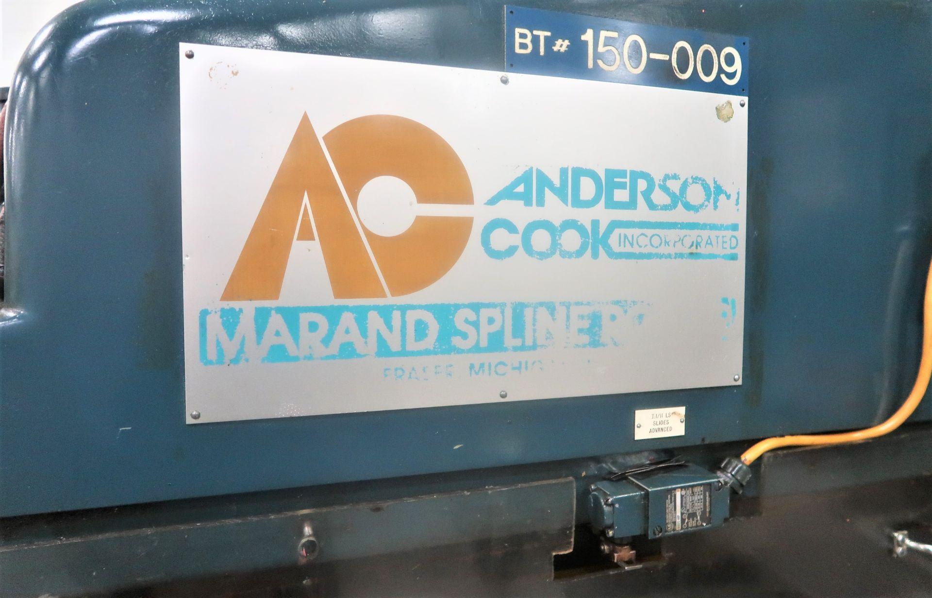 "Lot 16 - 48"" Anderson Cook Model 350S200 High Production Spline Roller, S/N 431"
