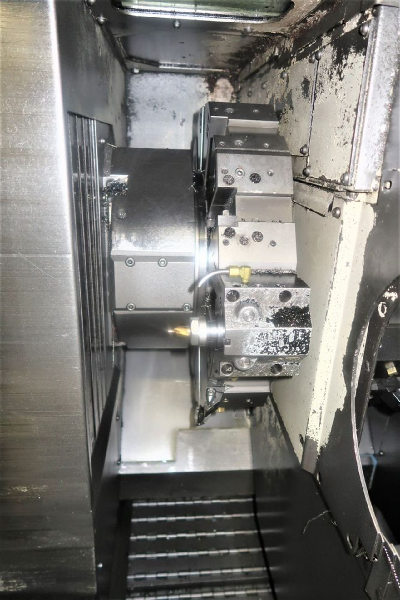 Lot 21 - Mazak Dual Turn 20 Twin Spindle CNC Turning Center Lathe, S/N 151871