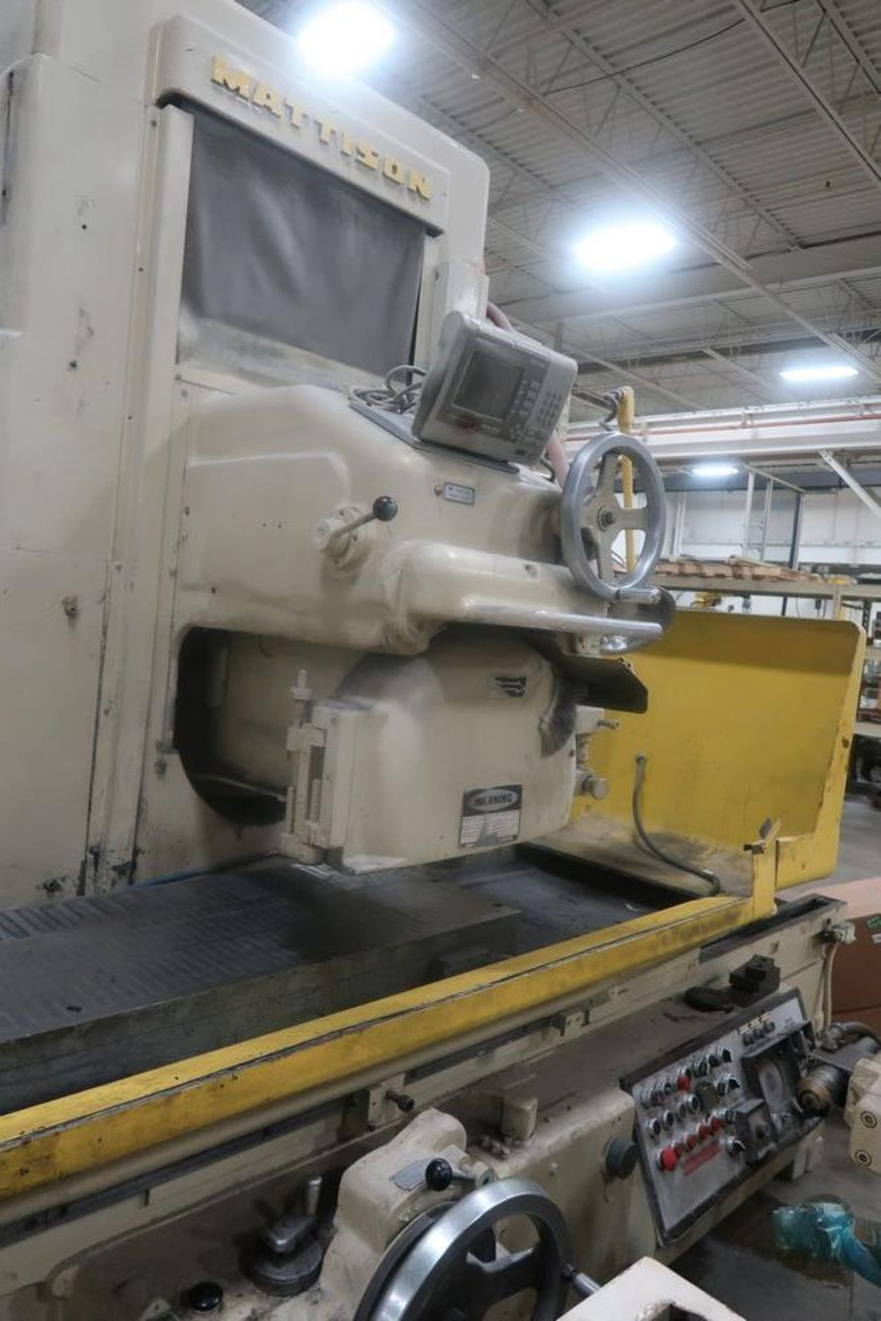 "Lot 39A - 24"" X 72"" Mattison Horizontal Spindle Surface Grinder"