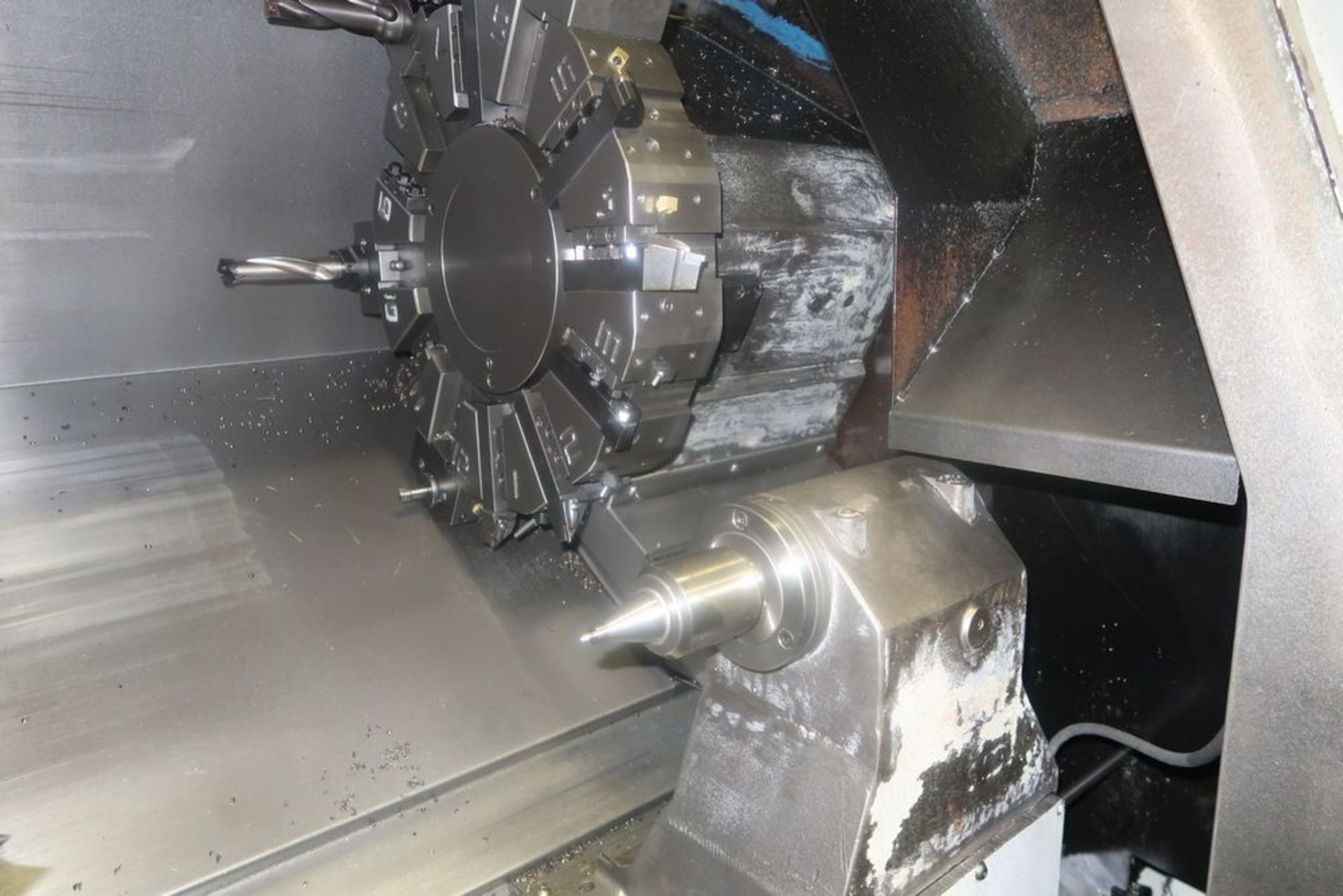 Lot 19 - Mazak Quick Turn Nexus 200 2-Axis CNC Turning Center Lathe, S/N 162571