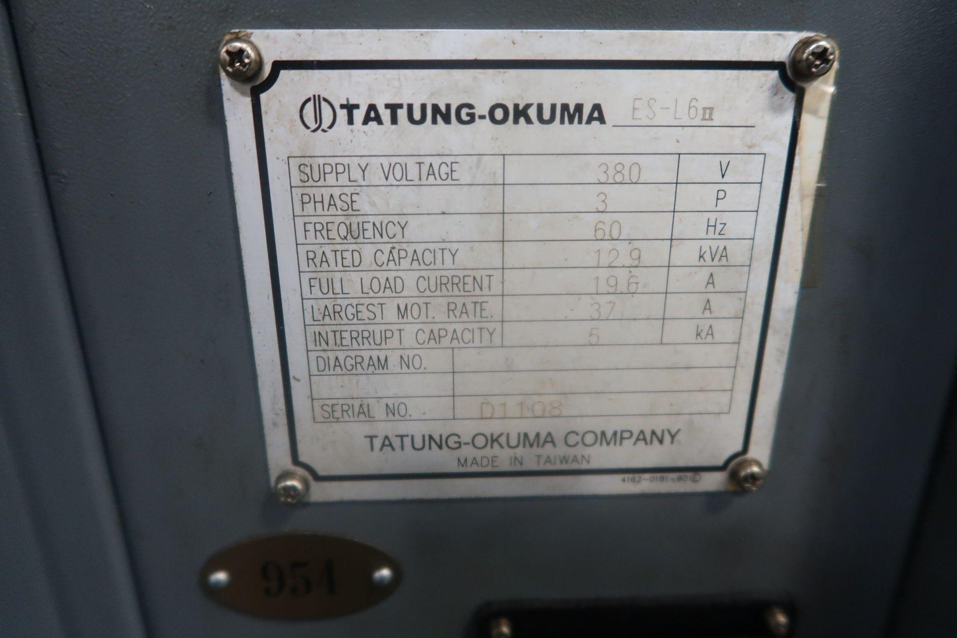 Lot 16A - Okuma Heritage ES-L6II CNC 2-Axis Turning Center Lathe, S/N D1108 New 2006