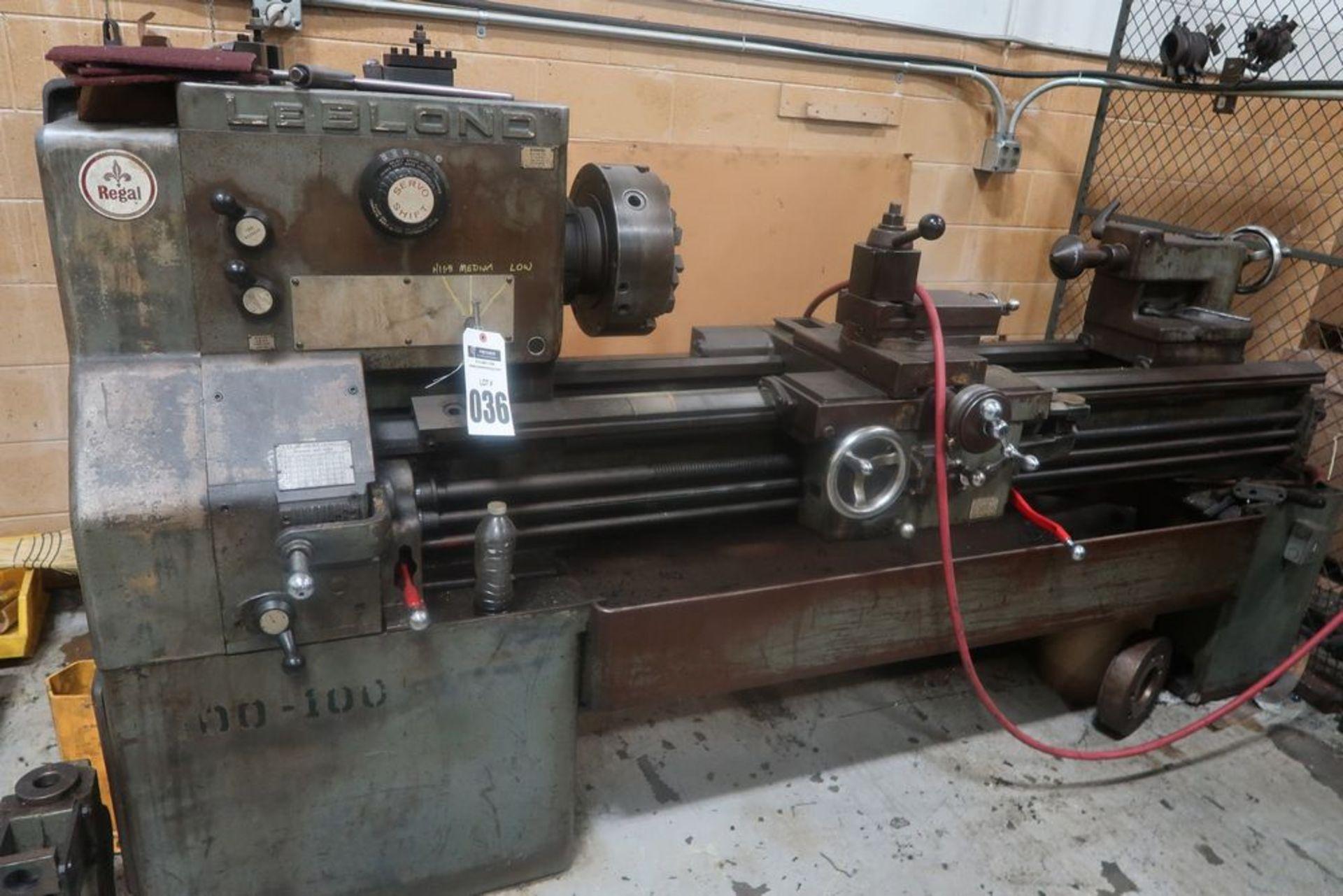 "19"" X 54"" LeBlond Regal Tool room Engine Lathe, S/N 5E179"