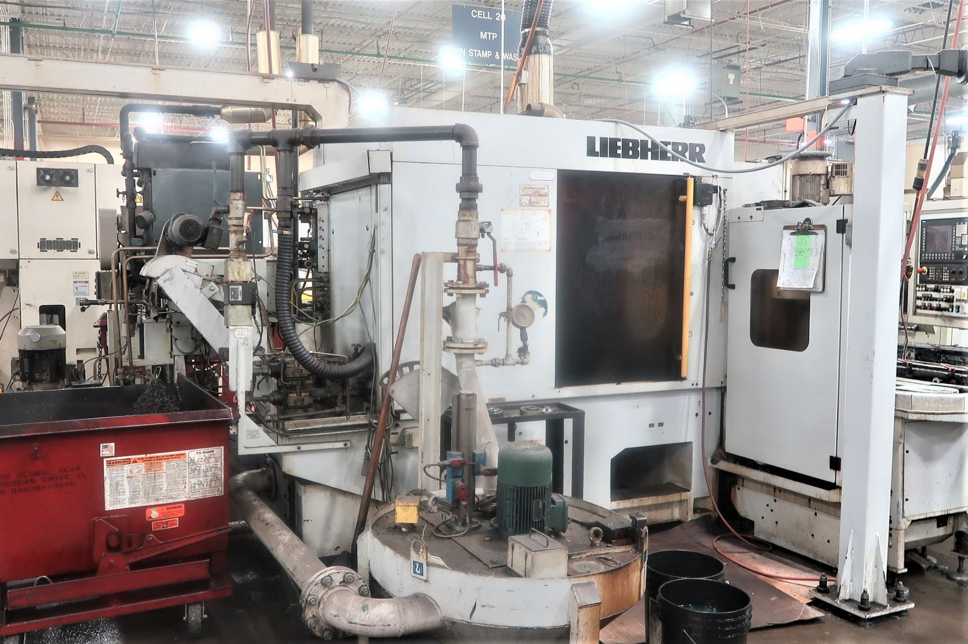 Lot 18B - Liebherr LC153 6-Axis CNC Gear Hobber w/Auto Load Table, S/N 0129