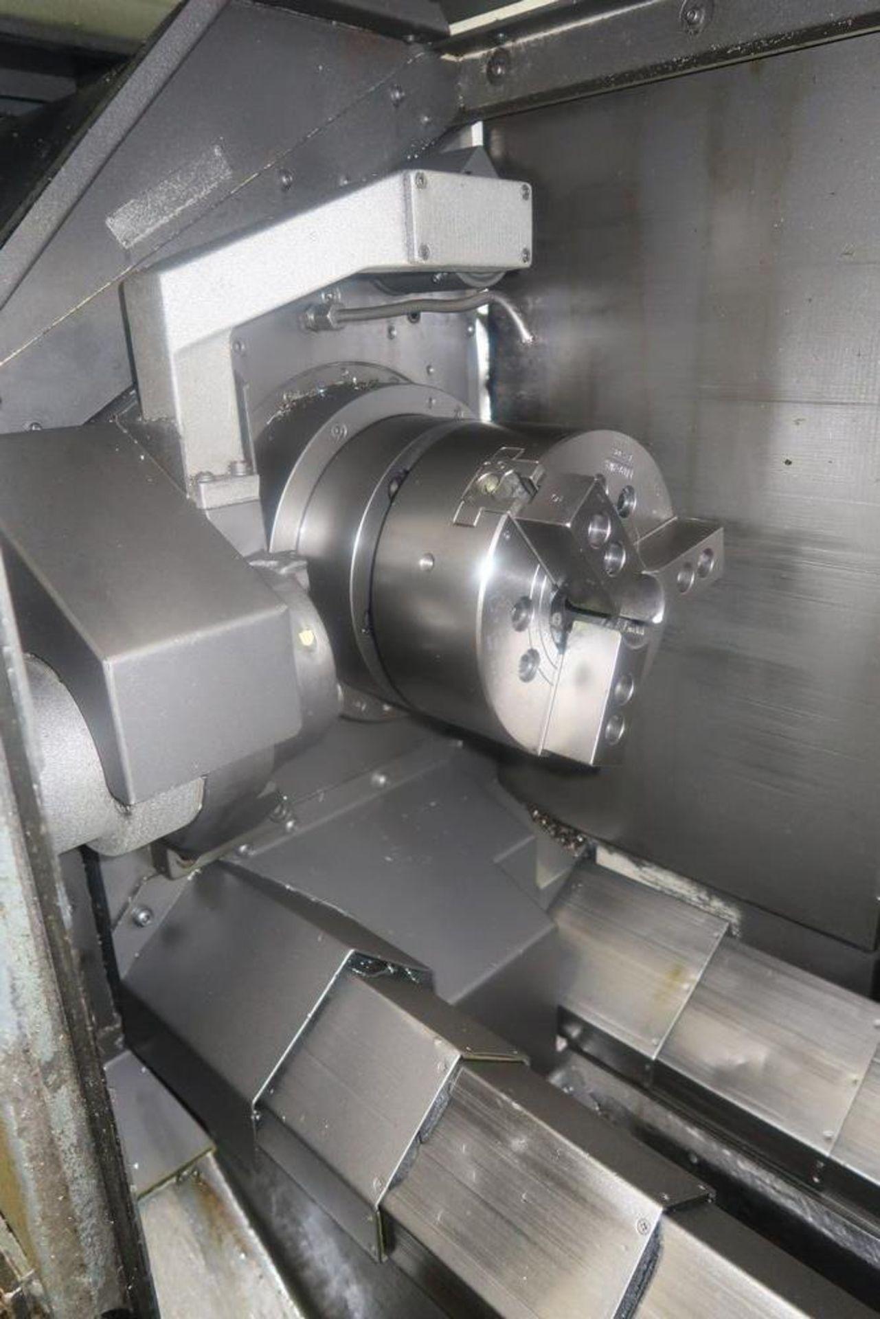 Mazak Dual Turn 25 Twin Spindle CNC Turning Center lathe, S/N 150888 - Image 5 of 13