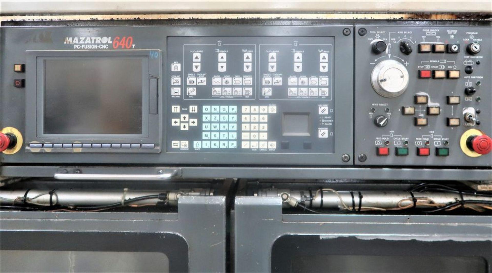 Lot 37 - Mazak Multiplex 6200 Twin Spindle CNC Turning Center Lathe, S/N 161327