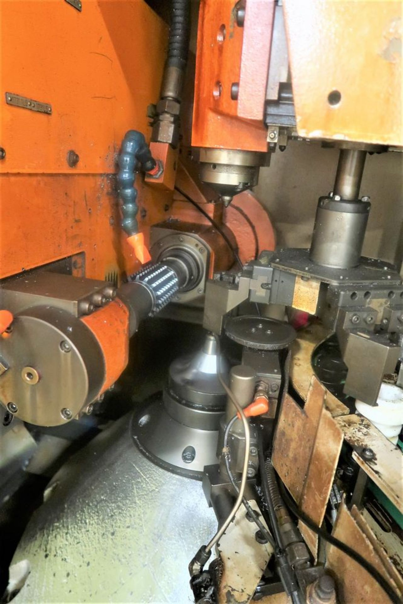 Lot 18 - Liebherr LC80 CNC Multi Axis Gear Hobber, S/N 0387, New 2004