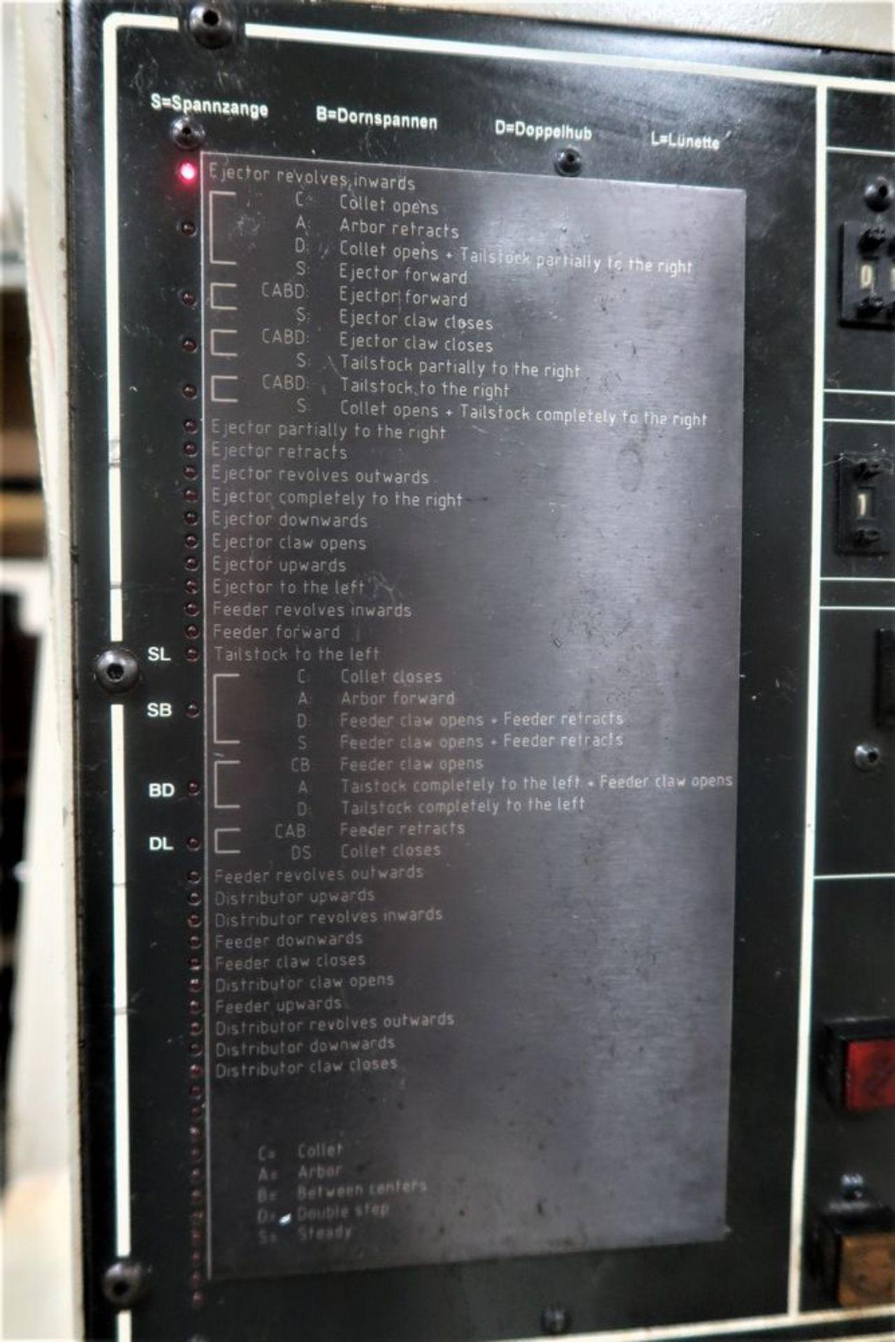 Koepfer 180 SPS/M Gear Hobber, S/N 180001 - Image 9 of 9
