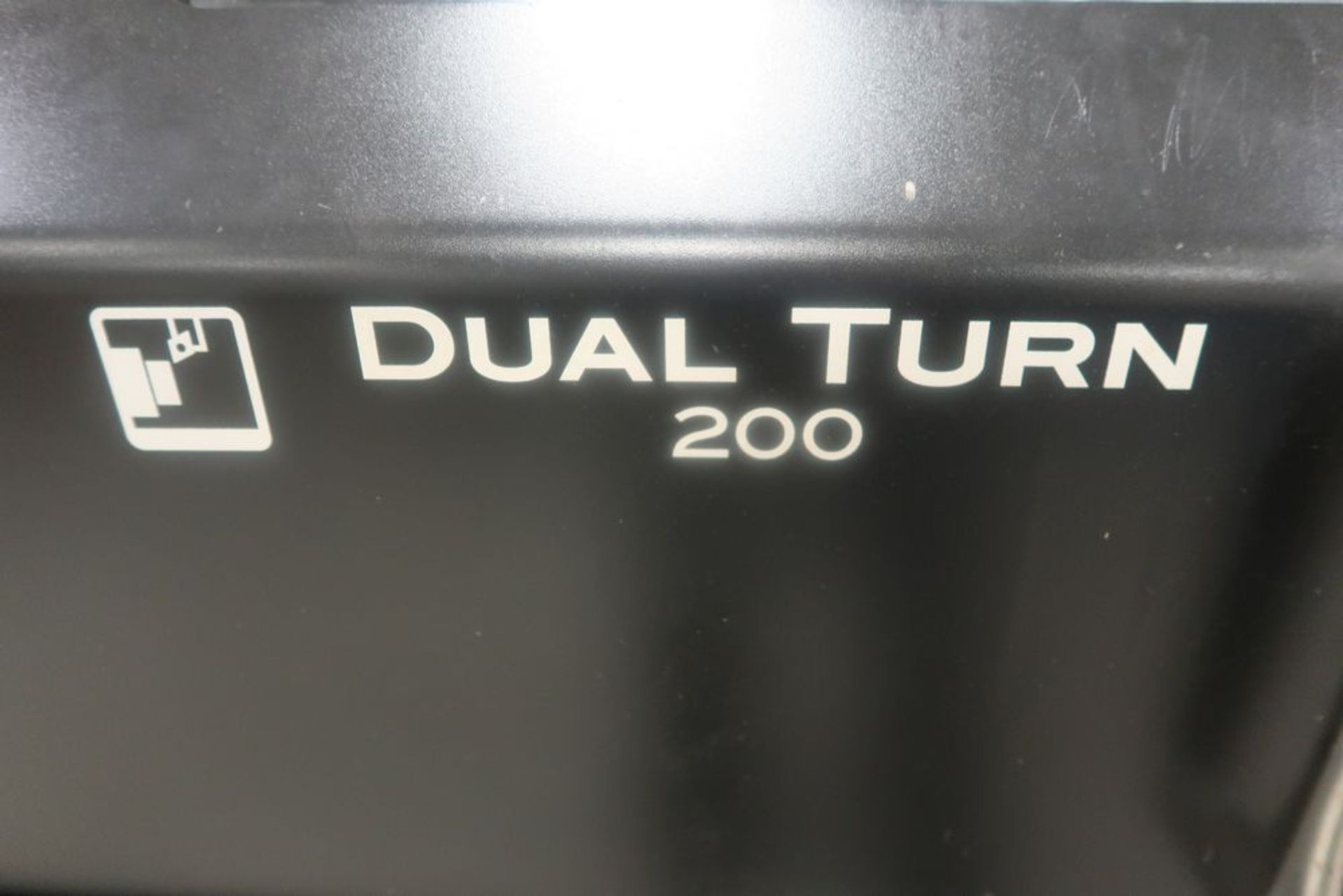 Lot 5 - Mazak Dual turn 200 Twin Spindle CNC Turning Center Lathe, S/N 287830, New 2018