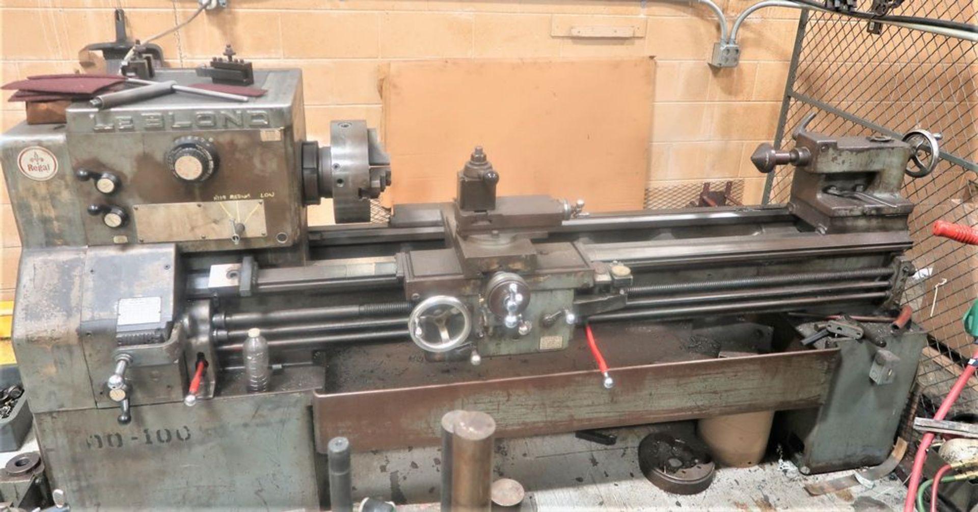 "19"" X 54"" LeBlond Regal Tool room Engine Lathe, S/N 5E179 - Image 5 of 5"
