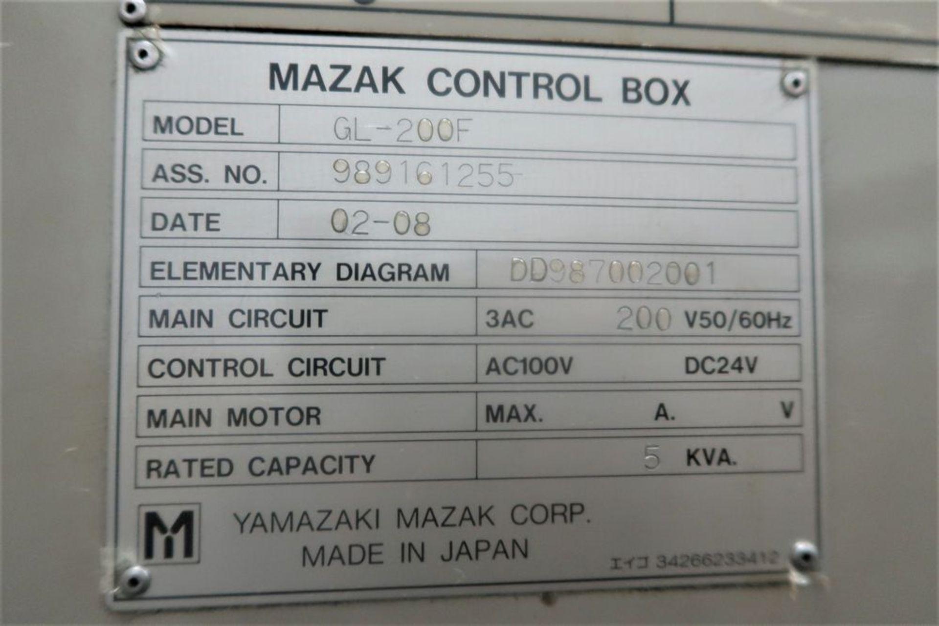 Lot 28 - Mazak Multiplex 6300Y Twin Spindle CNC Turning Center Lathe, S/N 161255