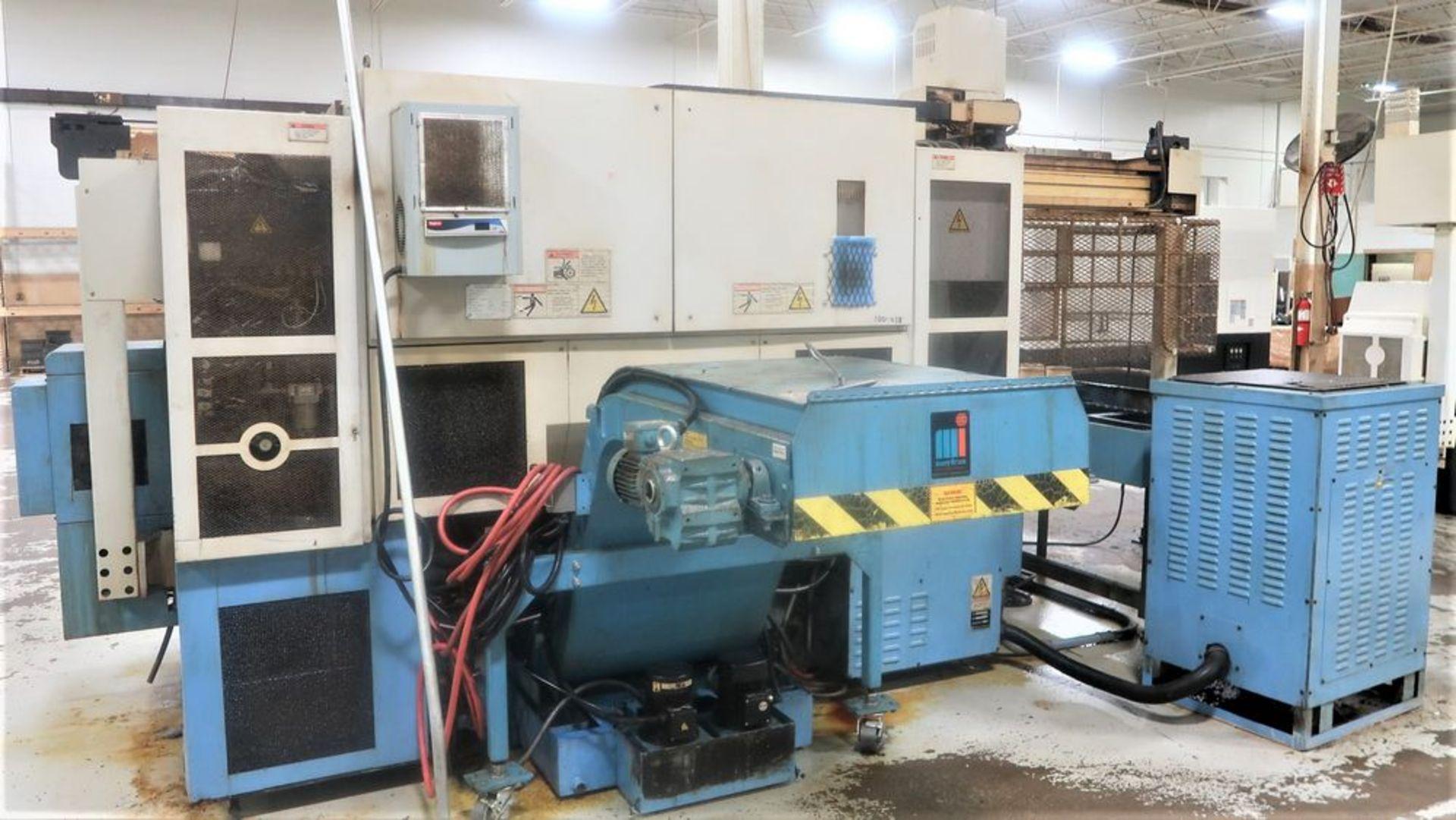 Mazak Dual Turn 25 Twin Spindle CNC Turning Center lathe, S/N 150888 - Image 11 of 13