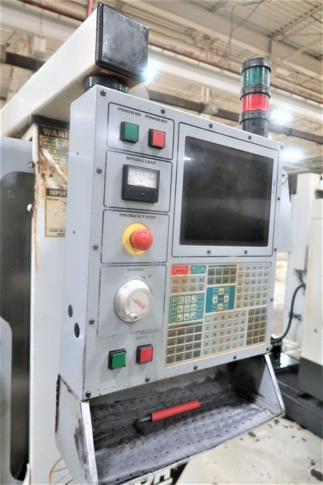 Lot 26 - Haas VF-1 4-Axis CNC Vertical Machining Center, S/N 22957