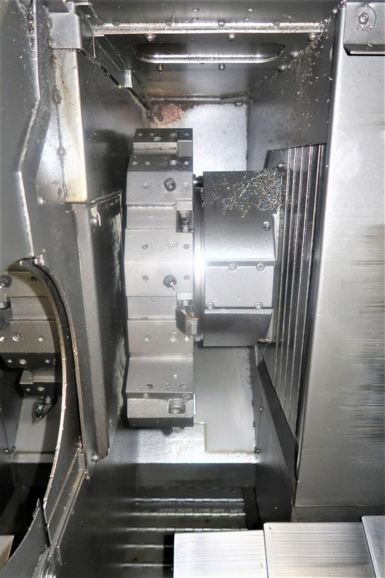 Mazak Dual Turn 25 Twin Spindle CNC Turning Center lathe, S/N 150888 - Image 8 of 13