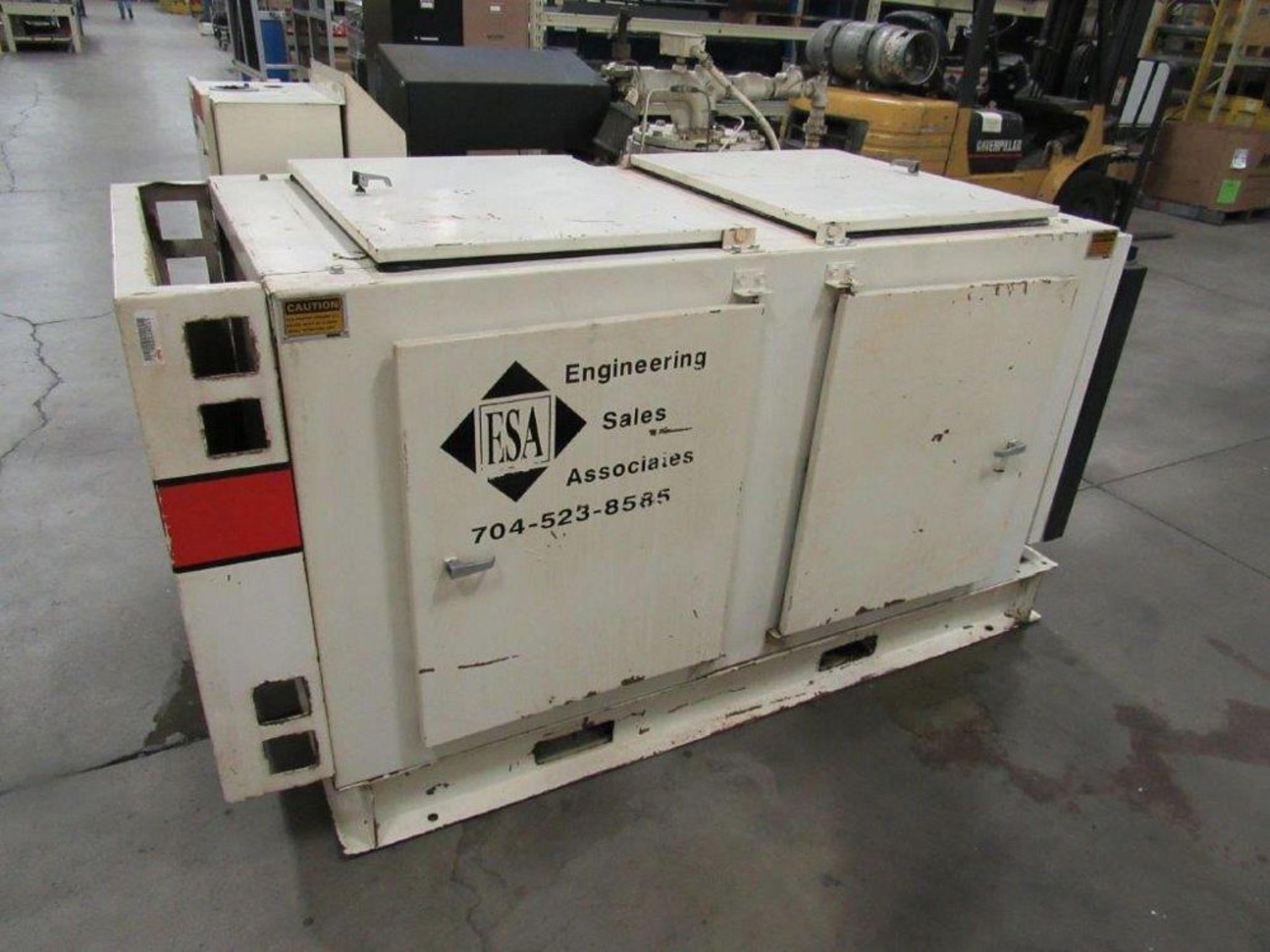 Lot 39B - 50 HP Gardner Denver Model ECHQCA Electra-Saver II Screw Type Air Compressor, Air Cooler