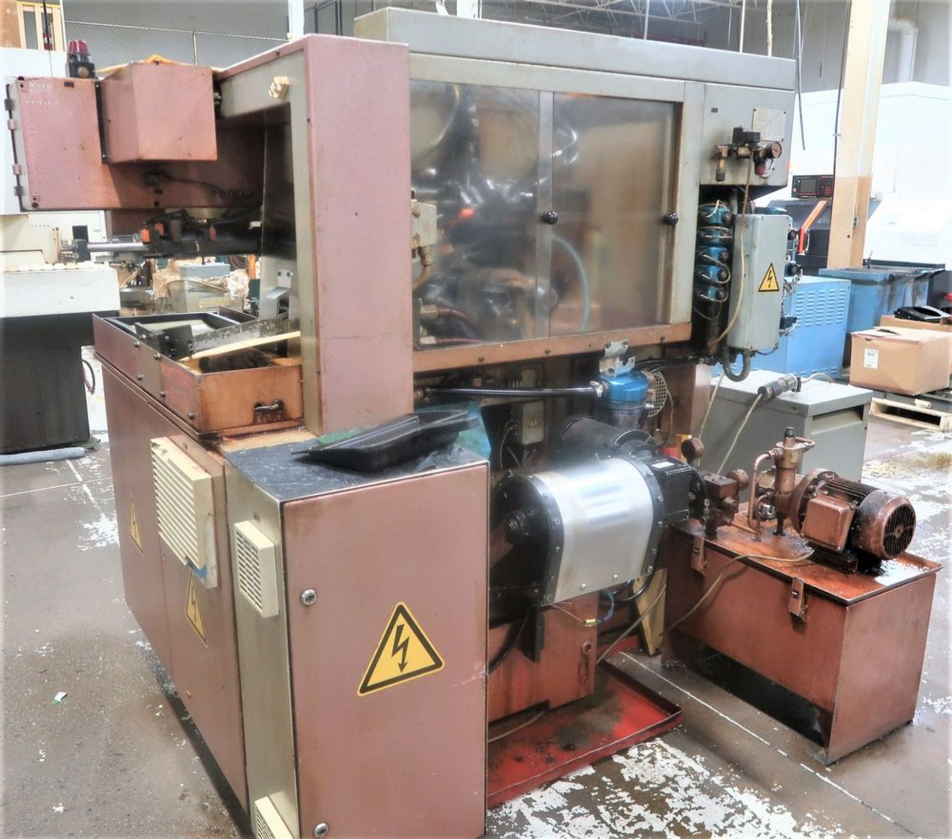 Koepfer 153B Gear Hobber w/Automatic Loading, S/N 153187 - Image 8 of 8