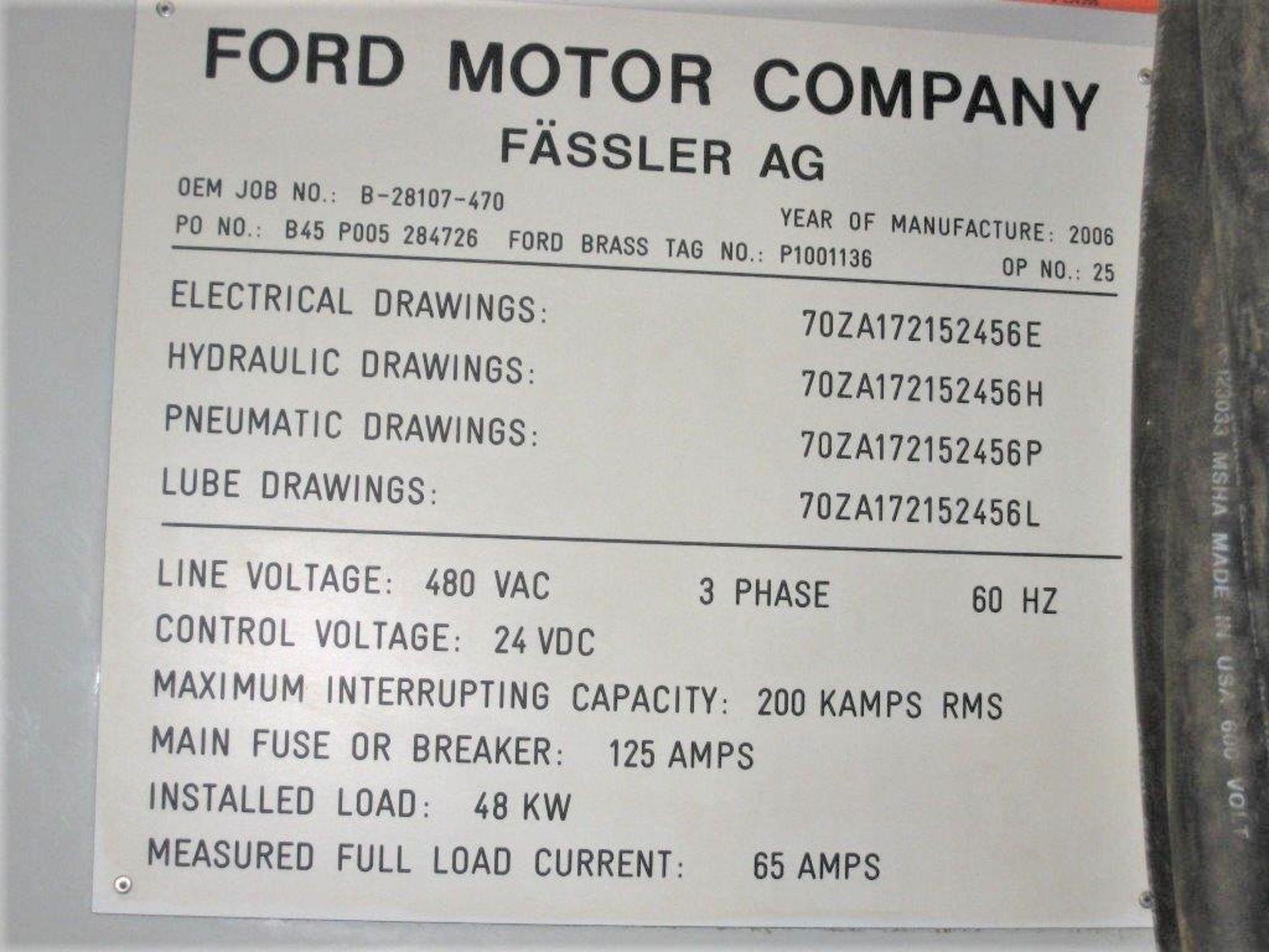 Lot 18F - MODEL #K400D FASSLER CNC GEAR HONE SERIAL NO. 470 (2006) 46 HOURS ONLY