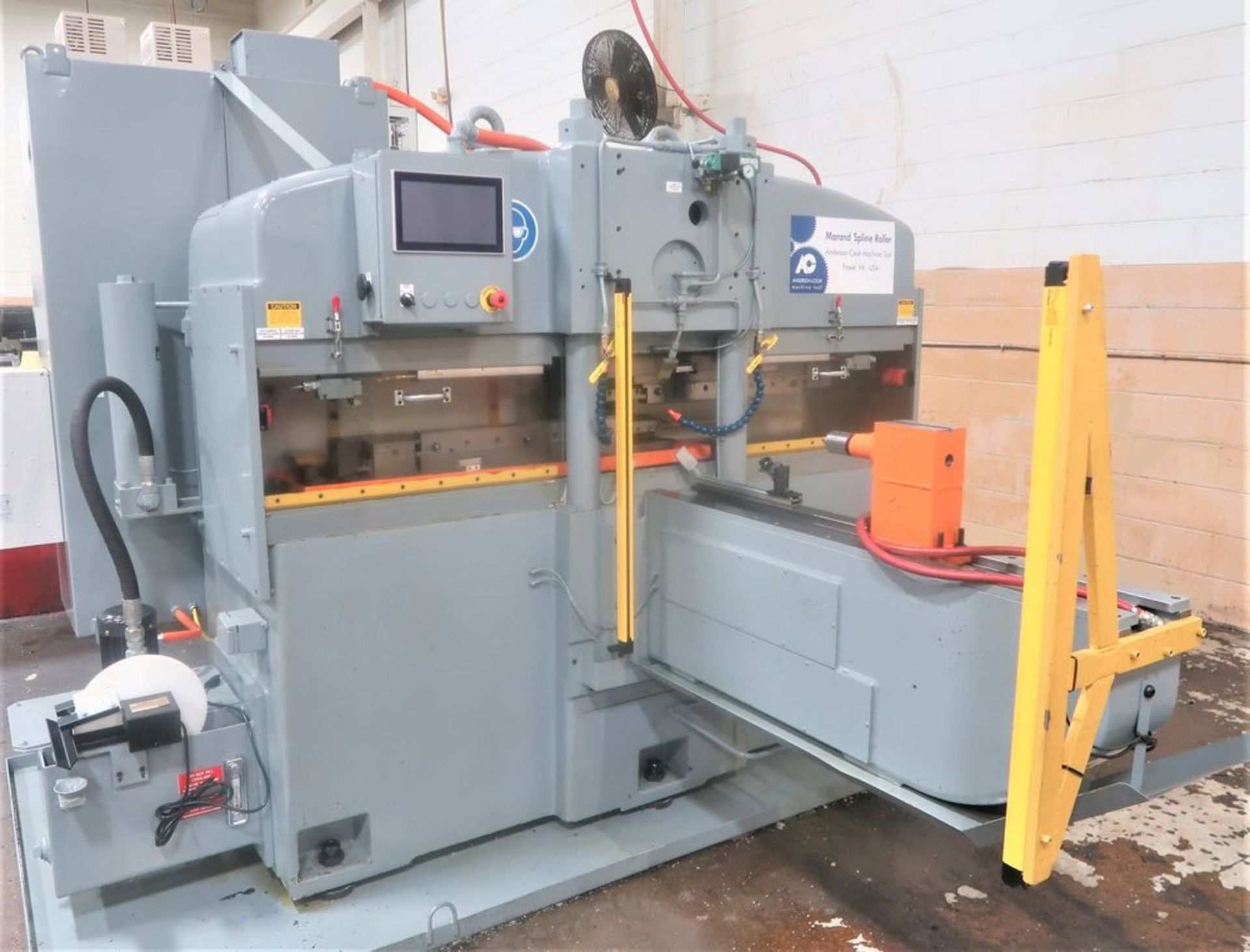 """Lot 4 - 24"""" Anderson Cook Model 330E-30 Electric Feed """"Totally Rebuilt Spline Roller, S/N 239"""