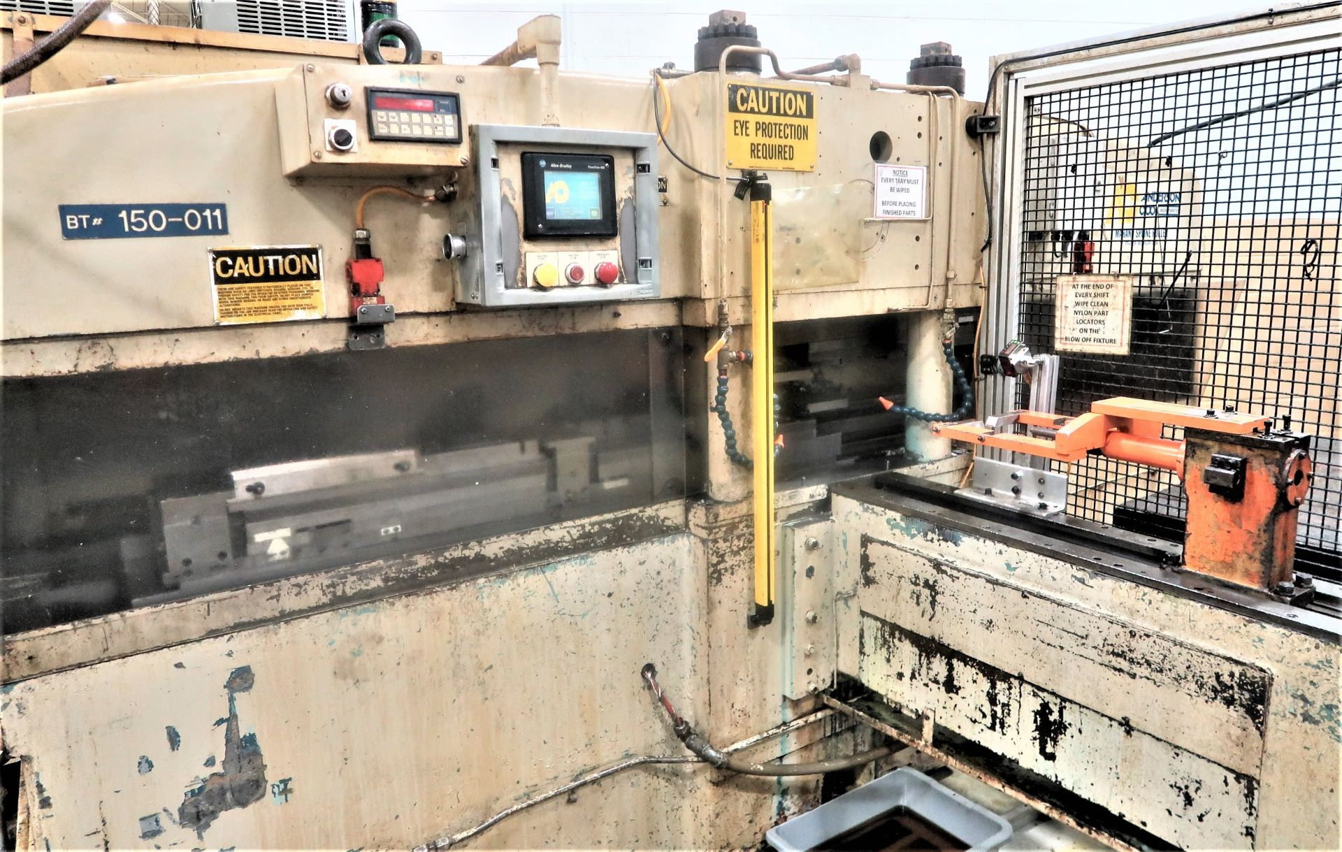 """Lot 12 - 48"""" Anderson Cook Model 350-E Electric Feed Spline Roller, S/N 329, New 2005"""