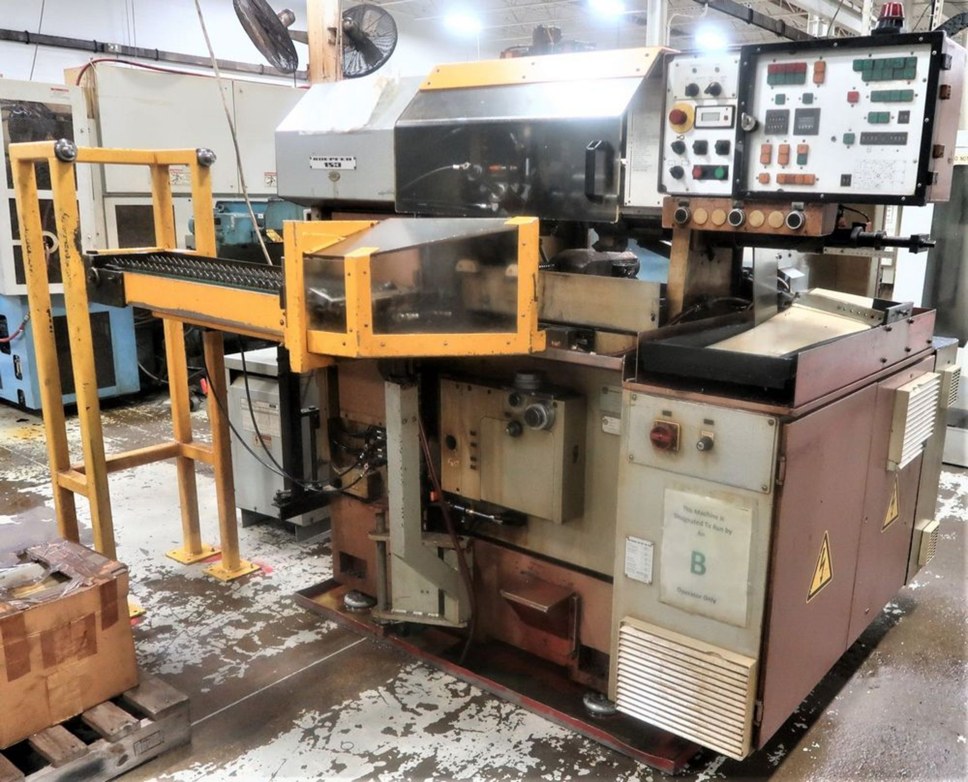 Koepfer 153B Gear Hobber w/Automatic Loading, S/N 153187 - Image 2 of 8