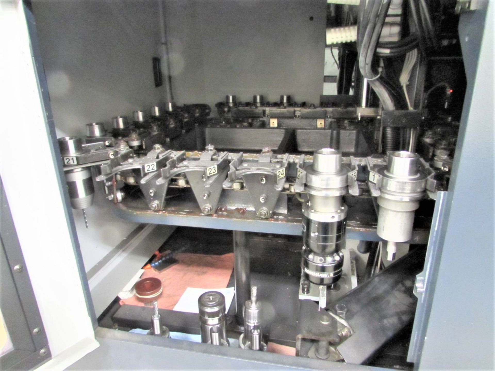 Lot 51 - Makino V33 High Speed CNC Vertical Machining Center, 30k RPM Spindle, S/N 1034, New 2003