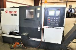 Feeler FTC-200L 2-Axis CNC Lathe, S/N TGL117, New 2010
