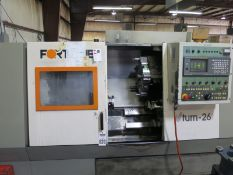 Victor Vturn-26 2-Axis CNC Vertical Machining Center, S/N UC-2786, New 2000