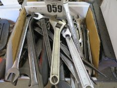 Misc. Lot of Wrenches