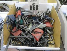 Misc. Allen Wrenches