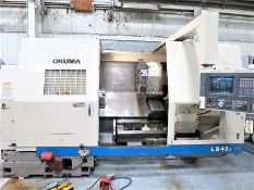 *** SOLD*** Okuma LB-45II CNC 2-Axis Turning Center Lathe, S/N 0115, New 2003