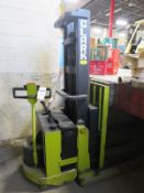 Clark Model SP30 Electric Lift Truck with Charger, S/N SP30-0126-PM6553