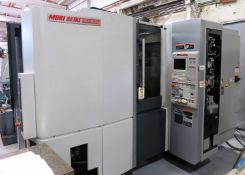 "16""x16"" Mori Seiki NHX4000 CNC Horizontal Machining Center, S/N NHX4012C207, New 2012"