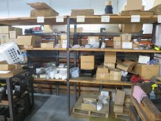 Pallet Rack with Contents